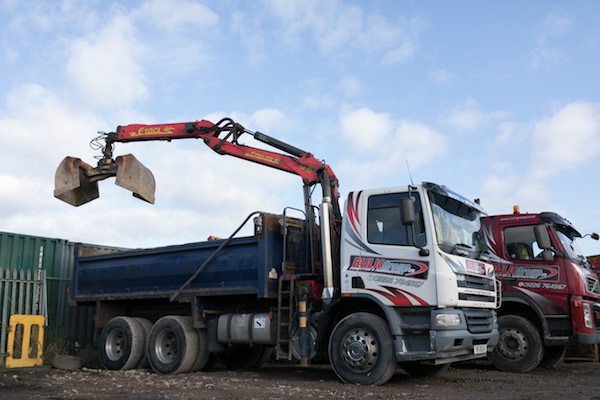 Grab Lorry South Yorkshire